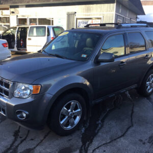 Photo of Gray 2012 Ford Escape Limited (Stock No 5514) for sale by Byrne Auto in Gorham, NH.